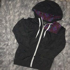 NWOT Tilly's lightweight wind breaker jacket